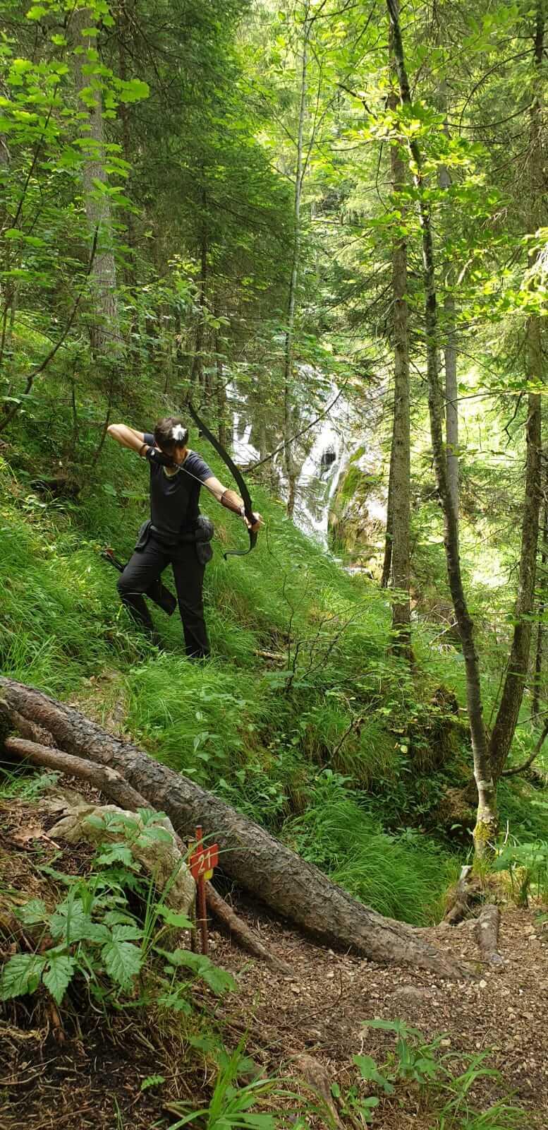 3D Bogenschießen am Kolbensattel in Oberammergau