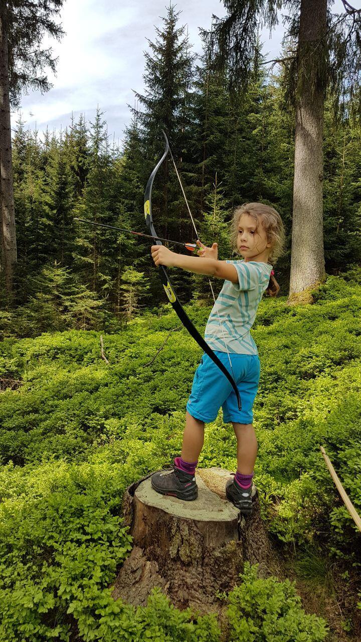 Bogenschießen für Kinder am Kolbensattel