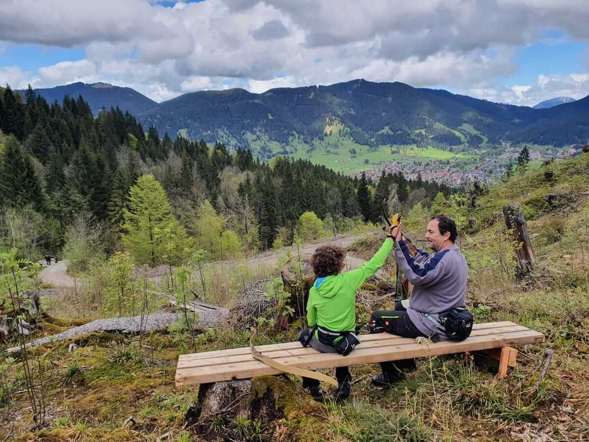 Bogenparcours am Kolbensattel in Oberammergau - AmmerBow